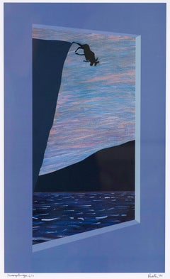 "Charles Pachter ""Moose Plunge"""