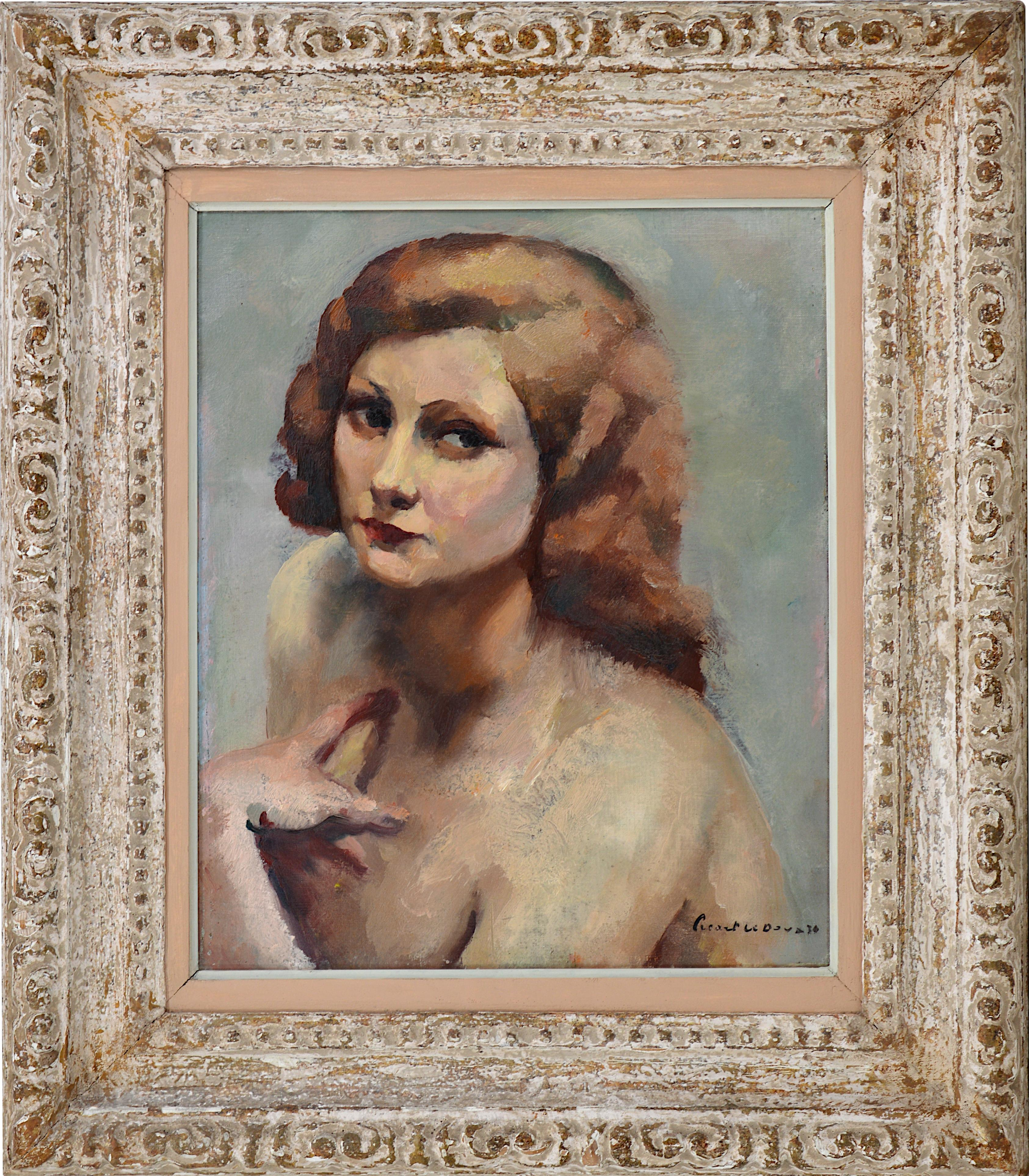 Young Red-haired Woman