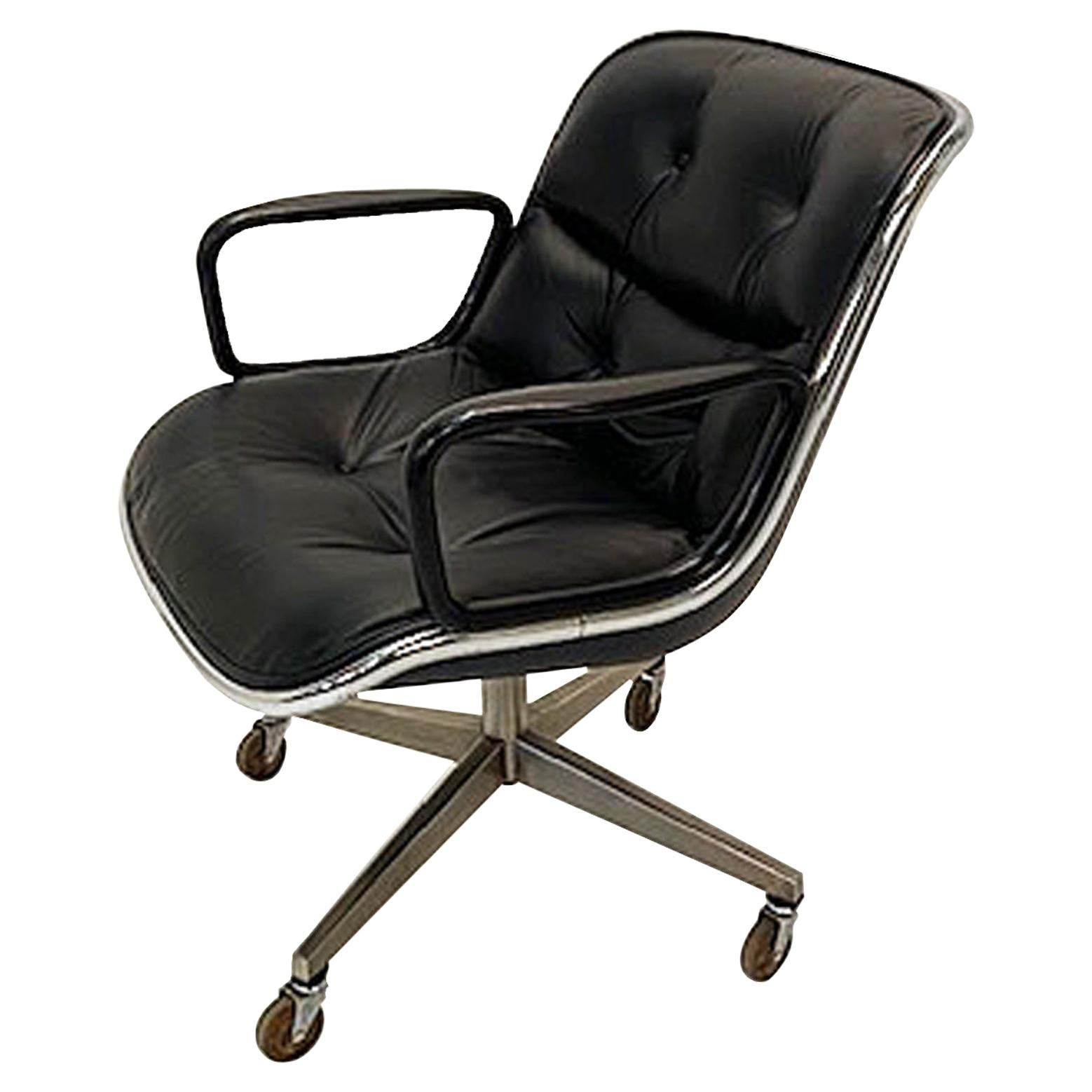Charles Pollock Famous Office Chair for Knoll 4 Star Base