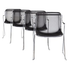 Charles Pollock 'Penelope' Chairs for Castelli Set/4