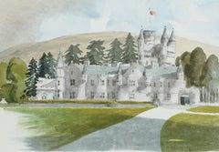 Balmoral - Signed Lithograph, Royal Art, Royal Homes, Balmoral Castle, British