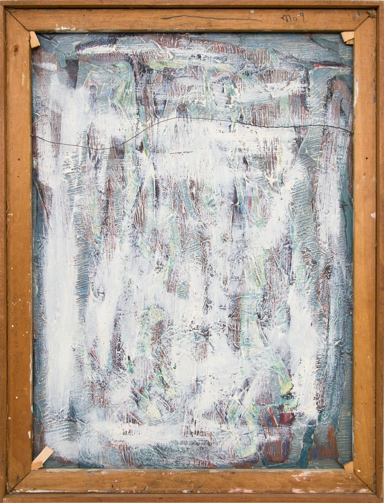Man Alone (Abstract Expressionist Composition) For Sale 7