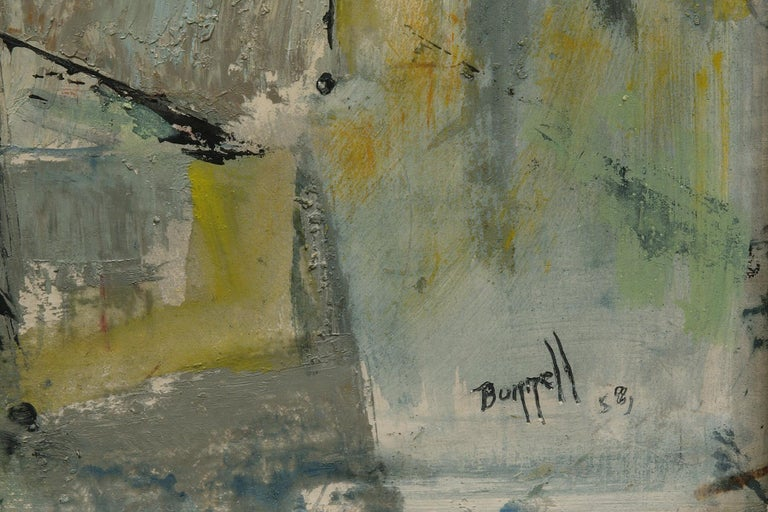 Charles Ragland Bunnell Untitled Abstract Expressionist