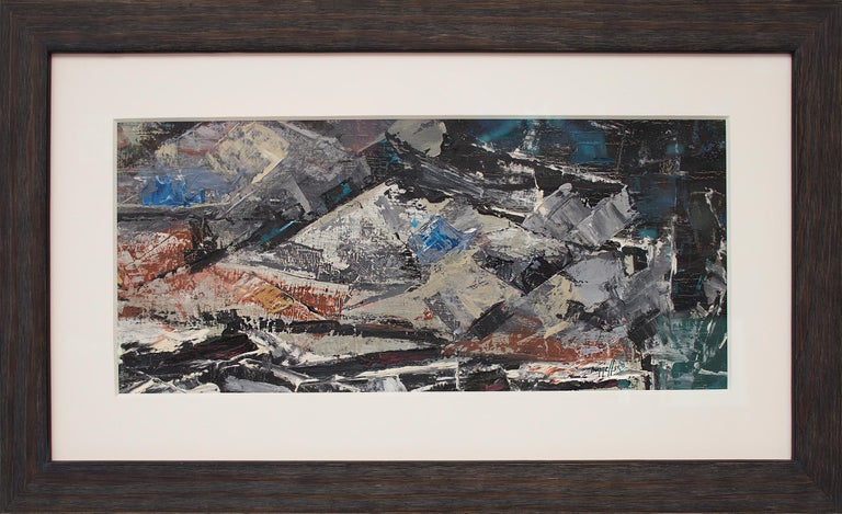 Charles Ragland Bunnell Landscape Painting - Untitled (Colorado Mountains)