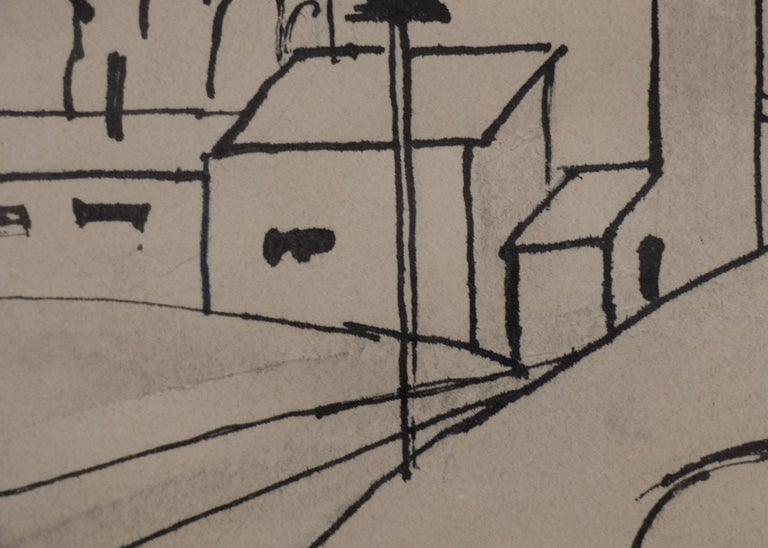 Untitled (Study of a Mountain Town, Colorado) For Sale 1