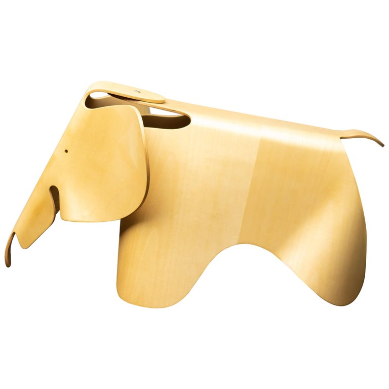 Charles & Ray Eames Anniversary Edition Plywood Elephant For Sale
