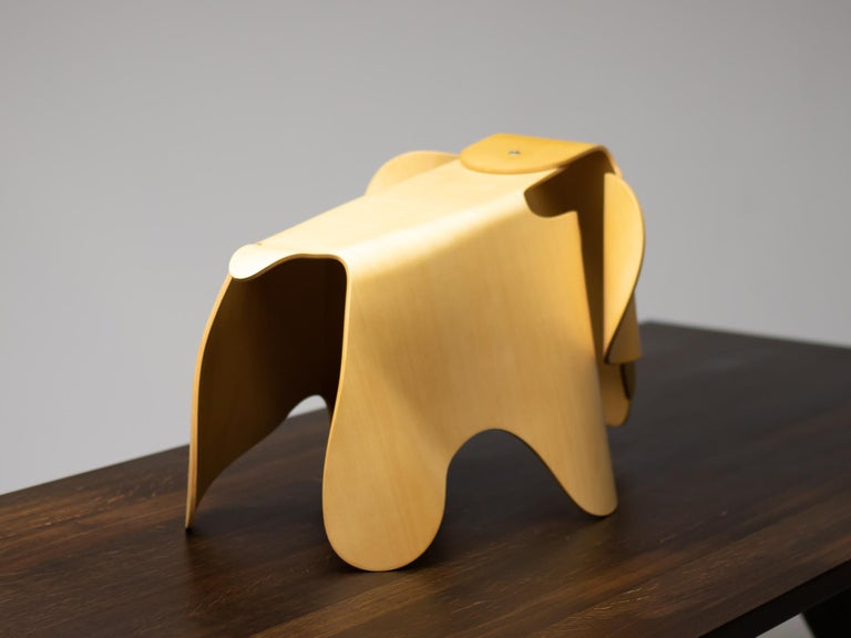 American Charles & Ray Eames Anniversary Limited Edition Plywood Elephant For Sale