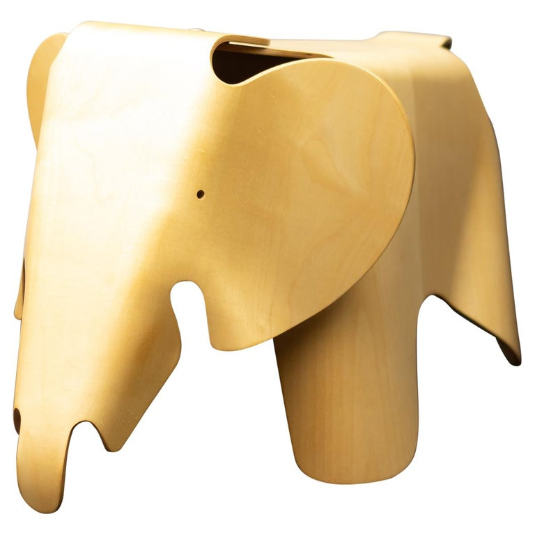Charles & Ray Eames Anniversary Limited Edition Plywood Elephant For Sale