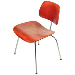 Charles & Ray Eames, 'DCM' Chair for Herman Miller, Stunning Early Version