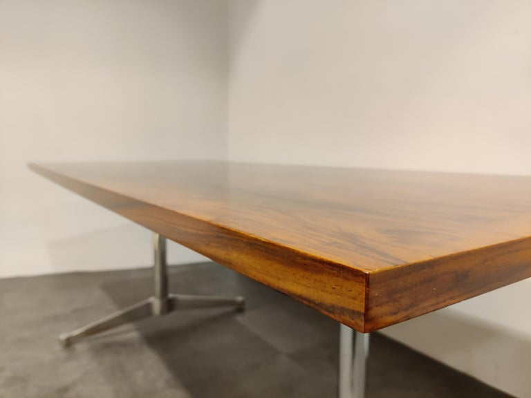 Charles & Ray Eames Dining Table or Conference Table, 1960s For Sale 5