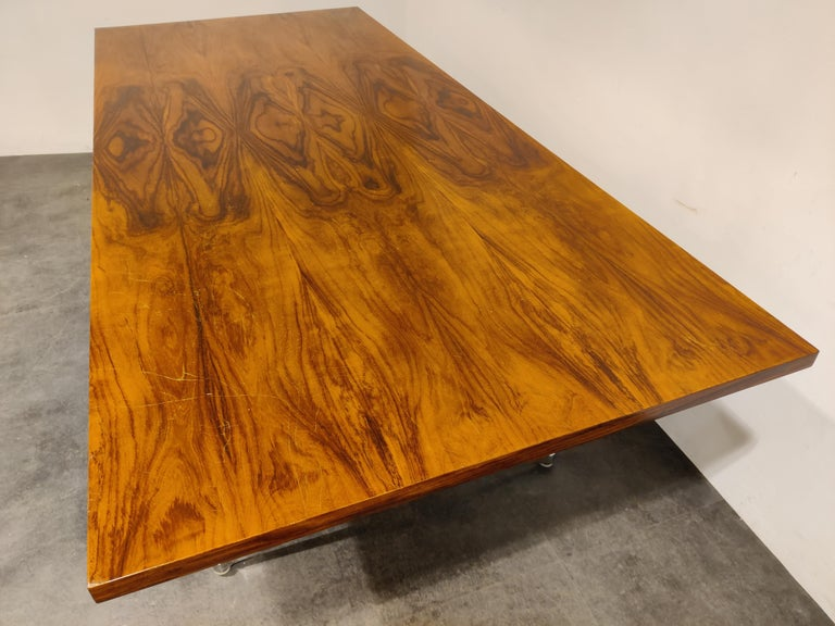 Charles & Ray Eames Dining Table or Conference Table, 1960s For Sale 6