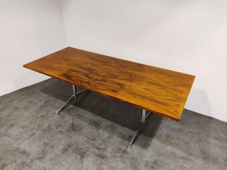 American Charles & Ray Eames Dining Table or Conference Table, 1960s For Sale