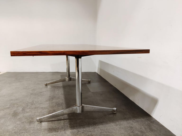 Charles & Ray Eames Dining Table or Conference Table, 1960s For Sale 1
