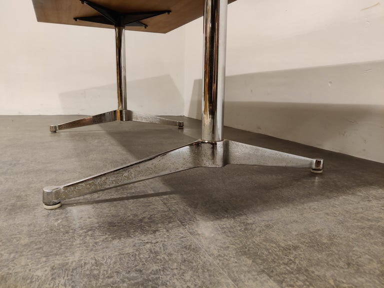 Charles & Ray Eames Dining Table or Conference Table, 1960s For Sale 2