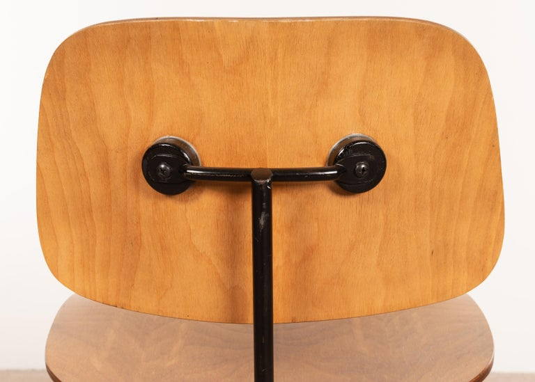 Charles & Ray Eames Early 1953 DCM Maple Side Chair Dining Set by Herman Miller For Sale 6