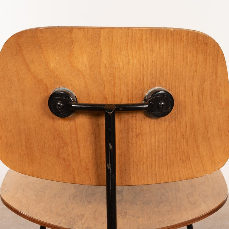 Charles & Ray Eames Early 1953 DCM Maple Side Chair Dining Set by Herman Miller For Sale 8