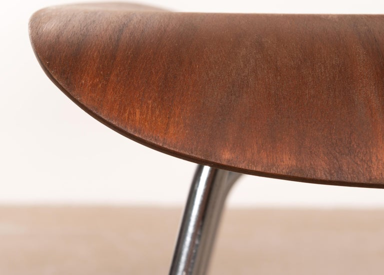 Charles & Ray Eames Early DCM Walnut Side Chair by Herman Miller, USA 2