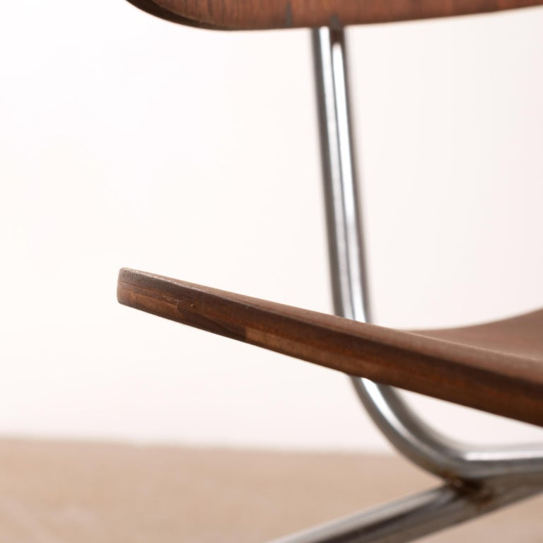 Charles & Ray Eames Early DCM Walnut Side Chair by Herman Miller, USA 5