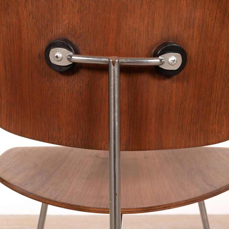 Charles & Ray Eames Early DCM Walnut Side Chair by Herman Miller, USA 7