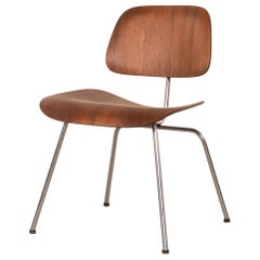 Charles & Ray Eames Early DCM Walnut Side Chair by Herman Miller, USA