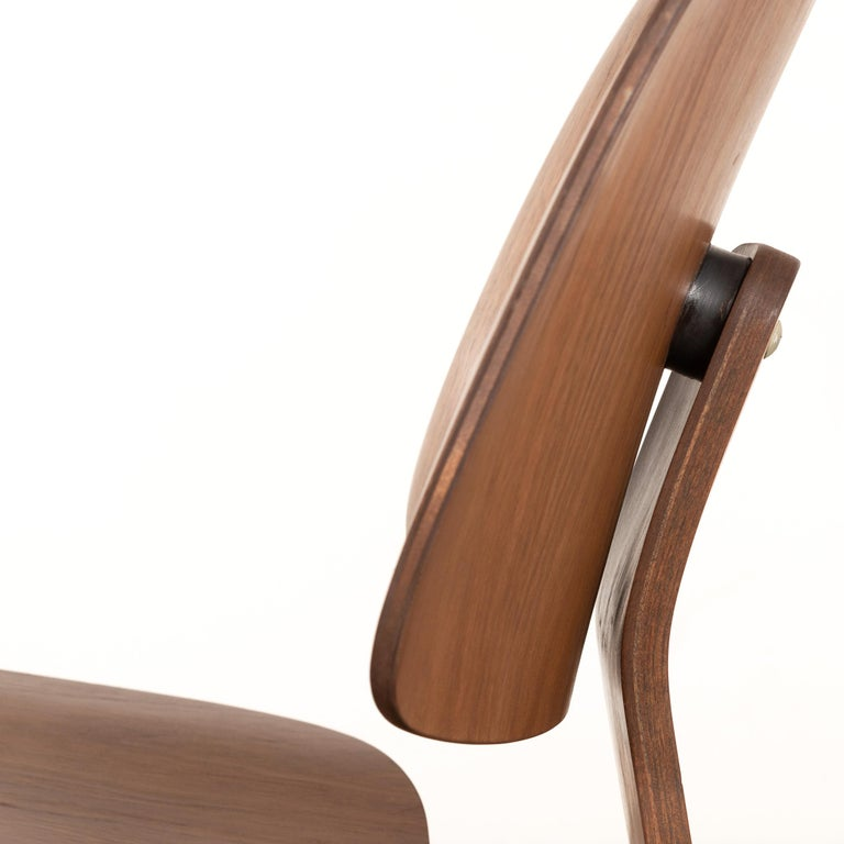 Charles & Ray Eames Early LCW Walnut Lounge Chair for Herman Miller 3