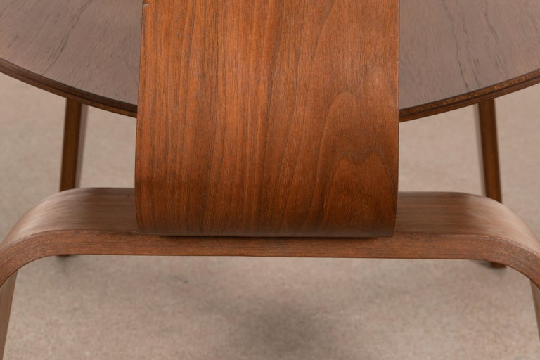 Charles & Ray Eames Early LCW Walnut Lounge Chair for Herman Miller 13