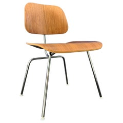 Charles Ray Eames for Herman Miller DCM Dining Chair in Walnut