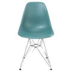 Charles & Ray Eames for Vitra Dim Grey DSR Dining Chair