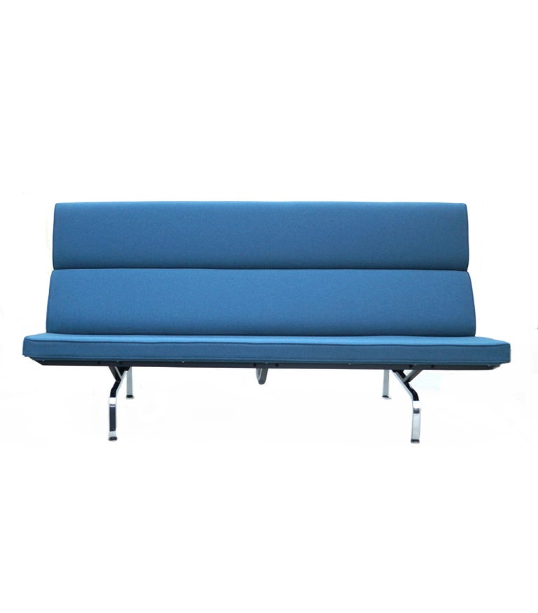 Charles & Ray Eames Herman Miller Compact Sofa Pair or Single 2
