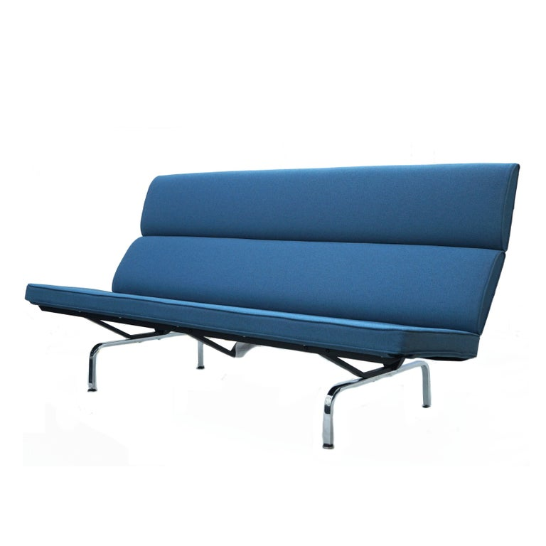 Charles & Ray Eames Herman Miller Compact Sofa Pair or Single 3
