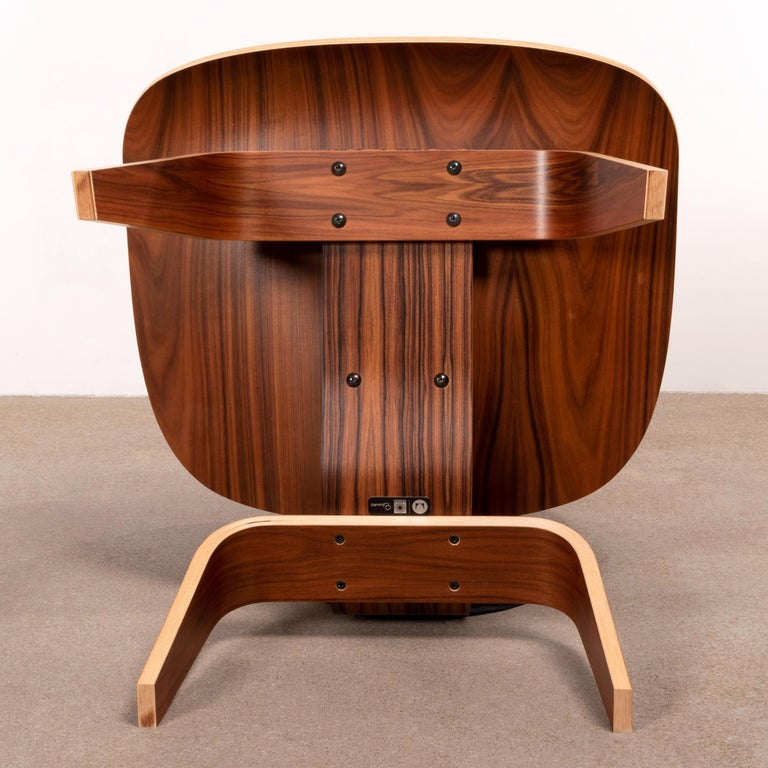 Charles & Ray Eames LCW Santos Palisander Lounge Chair for Herman Miller For Sale 9