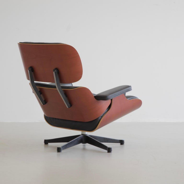 German Charles & Ray Eames Lounge Chair and Footstool, Vitra 1999 For Sale
