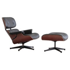 Charles & Ray Eames Lounge Chair and Footstool, Vitra 1999