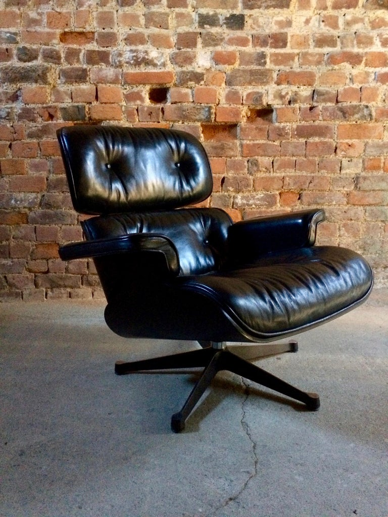 Charles And Ray Eames Lounge Chair And Ottoman 670 And 671