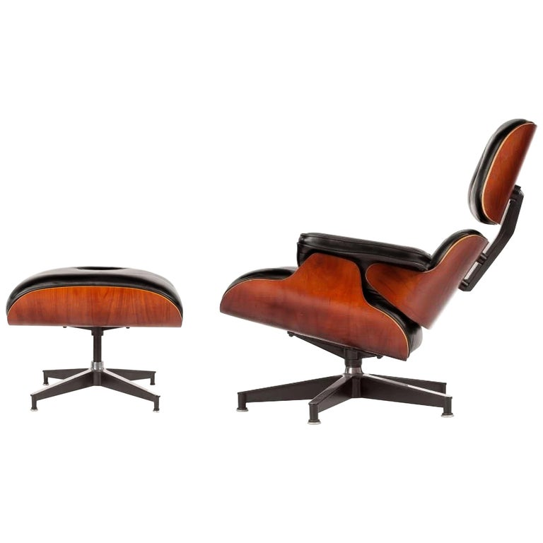 Charles, Ray Eames Lounge Chair and Ottoman, Herman Miller, 50th Anniv., Ltd Ed For Sale