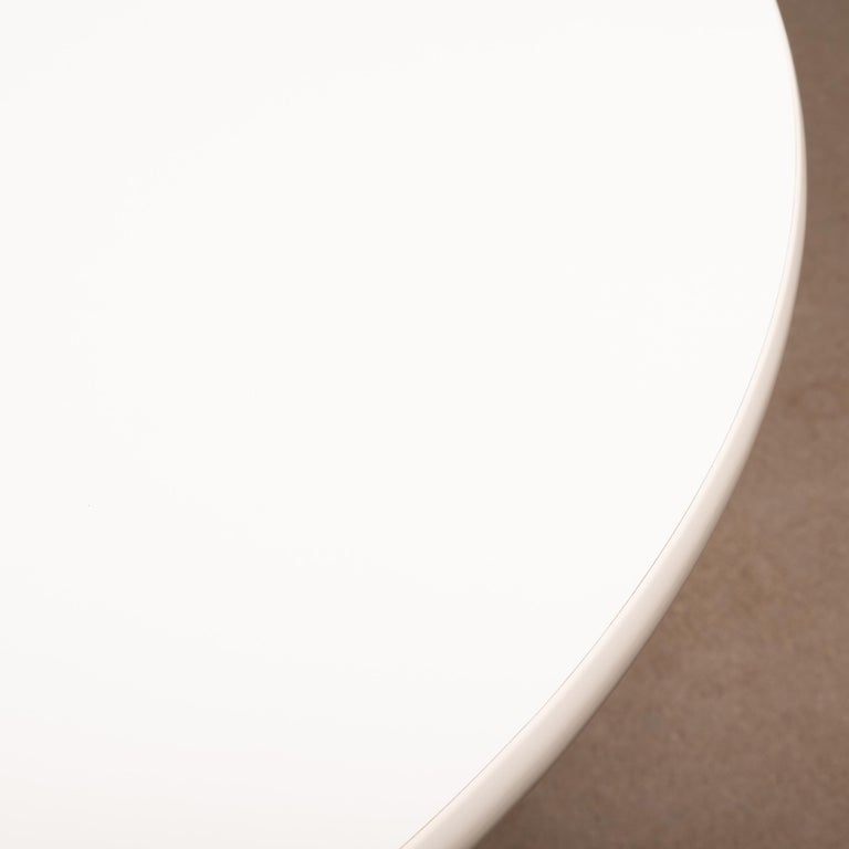 Cast Charles & Ray Eames Segmented round and white Dining Table for Herman Miller For Sale