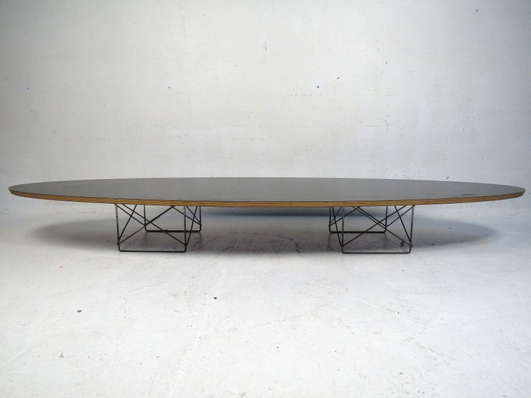 Mid-Century Modern Charles & Ray Eames Surfboard Coffee Table for Herman Miller For Sale
