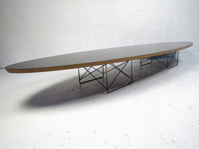 American Charles & Ray Eames Surfboard Coffee Table for Herman Miller For Sale