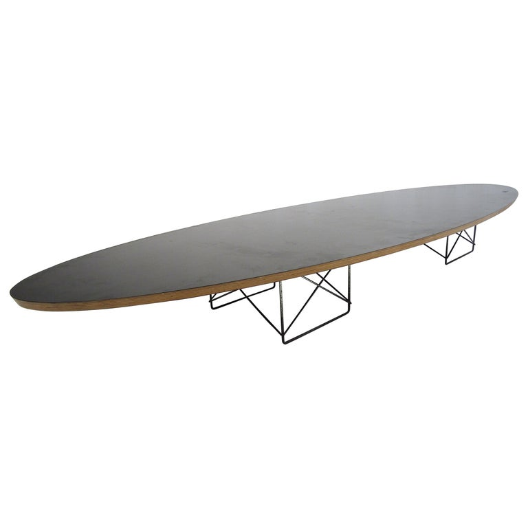 Charles & Ray Eames Surfboard Coffee Table for Herman Miller For Sale