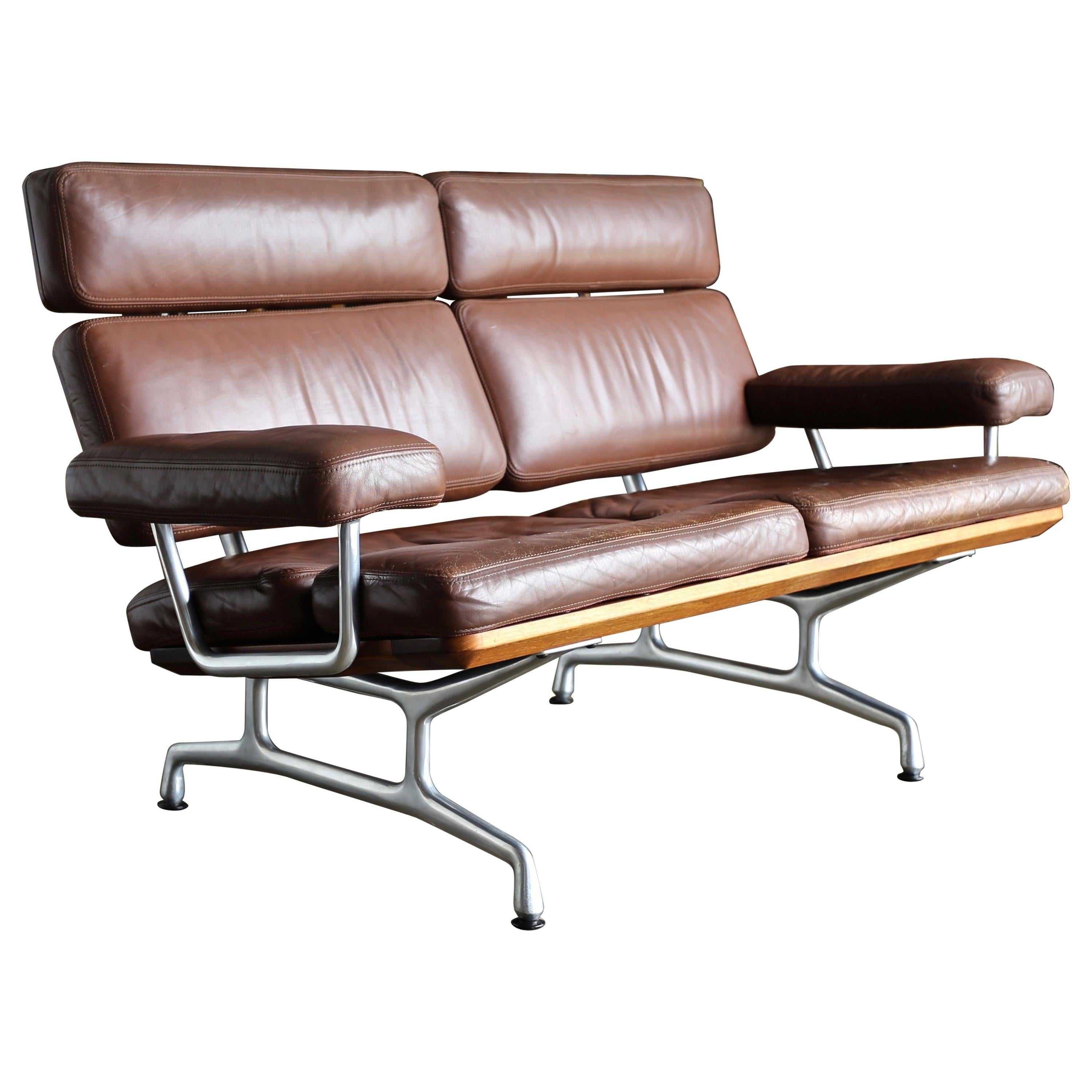 Wondrous Charles And Ray Eames For Herman Miller Chromed Steel And Mohair Compact Sofa Forskolin Free Trial Chair Design Images Forskolin Free Trialorg