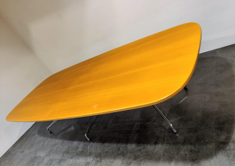 Mid-Century Modern Charles and Ray Eames, Vitra Segmented Dining or Conference Table, 1990s For Sale