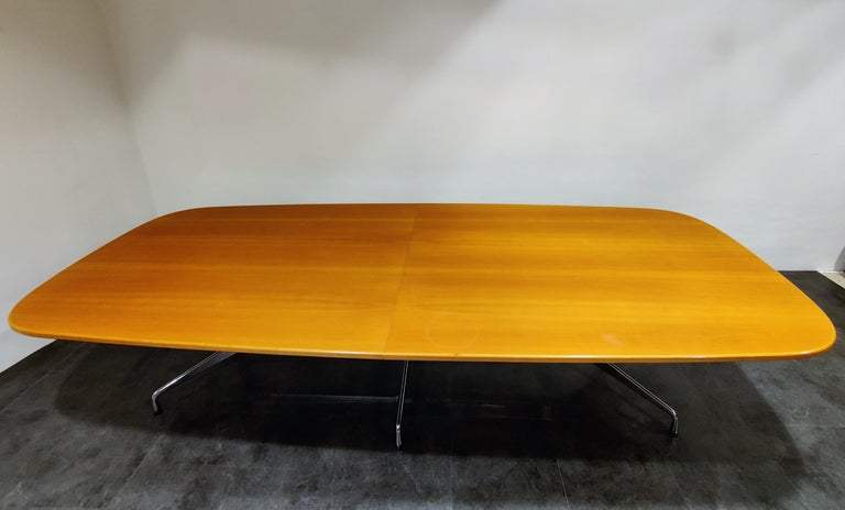 American Charles and Ray Eames, Vitra Segmented Dining or Conference Table, 1990s For Sale