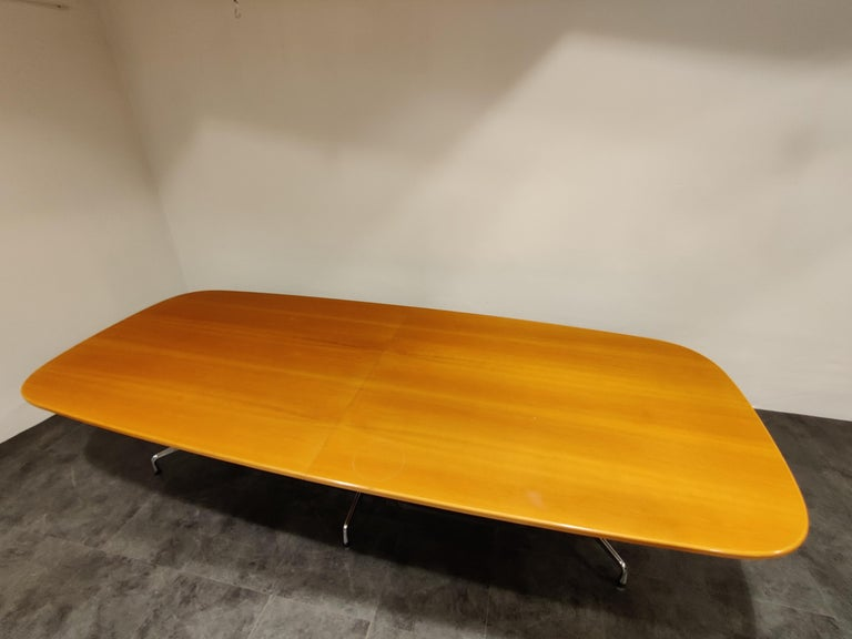 Charles and Ray Eames, Vitra Segmented Dining or Conference Table, 1990s For Sale 2