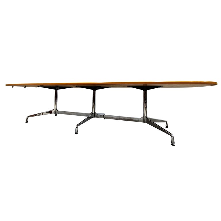 Charles and Ray Eames, Vitra Segmented Dining or Conference Table, 1990s For Sale