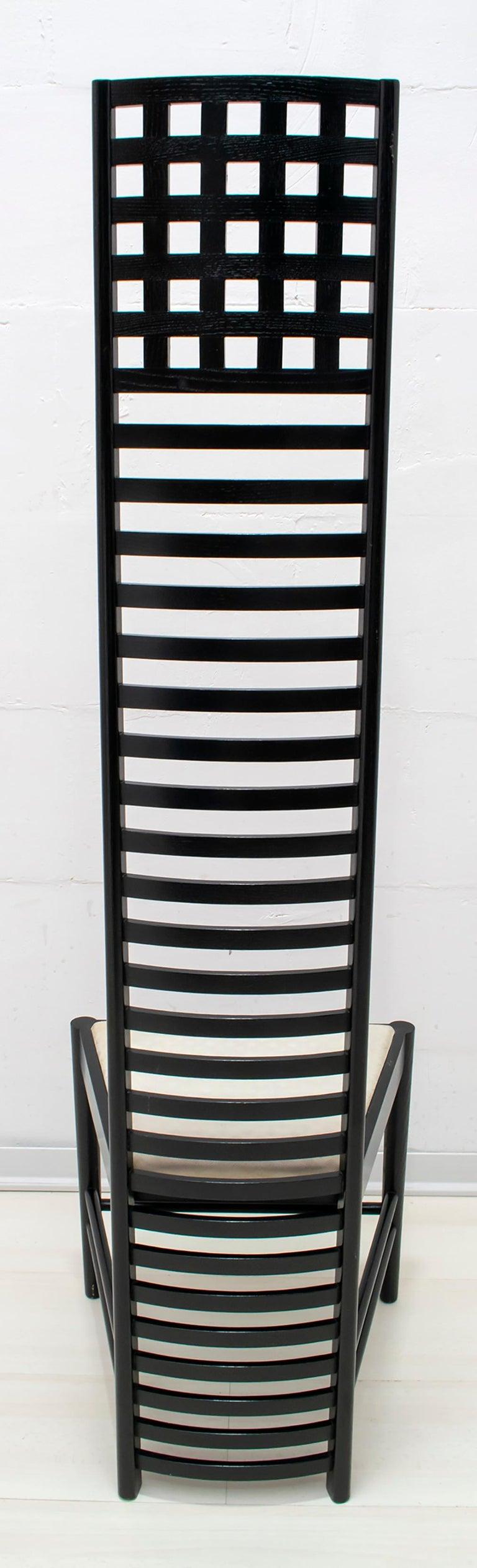 Charles Rennie Mackintosh High Back Chairs