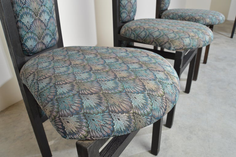 Charles Rennie Mackintosh Style Custom High Back Contemporary Dining Chairs 1