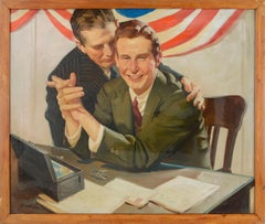 """""""Successful Campaign"""" Short Story illustration art by  Charles Kinghan"""