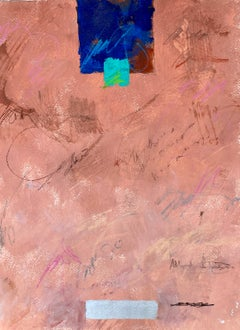 Blockbuster II by Charles Ross, Vertical Mixed Media on Paper Abstract Painting