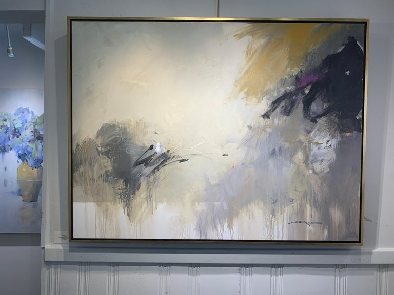 Morning by Charles Ross, Large Horizontal Mixed Media on Canvas Painting For Sale 1