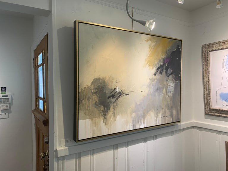 Morning by Charles Ross, Large Horizontal Mixed Media on Canvas Painting For Sale 2